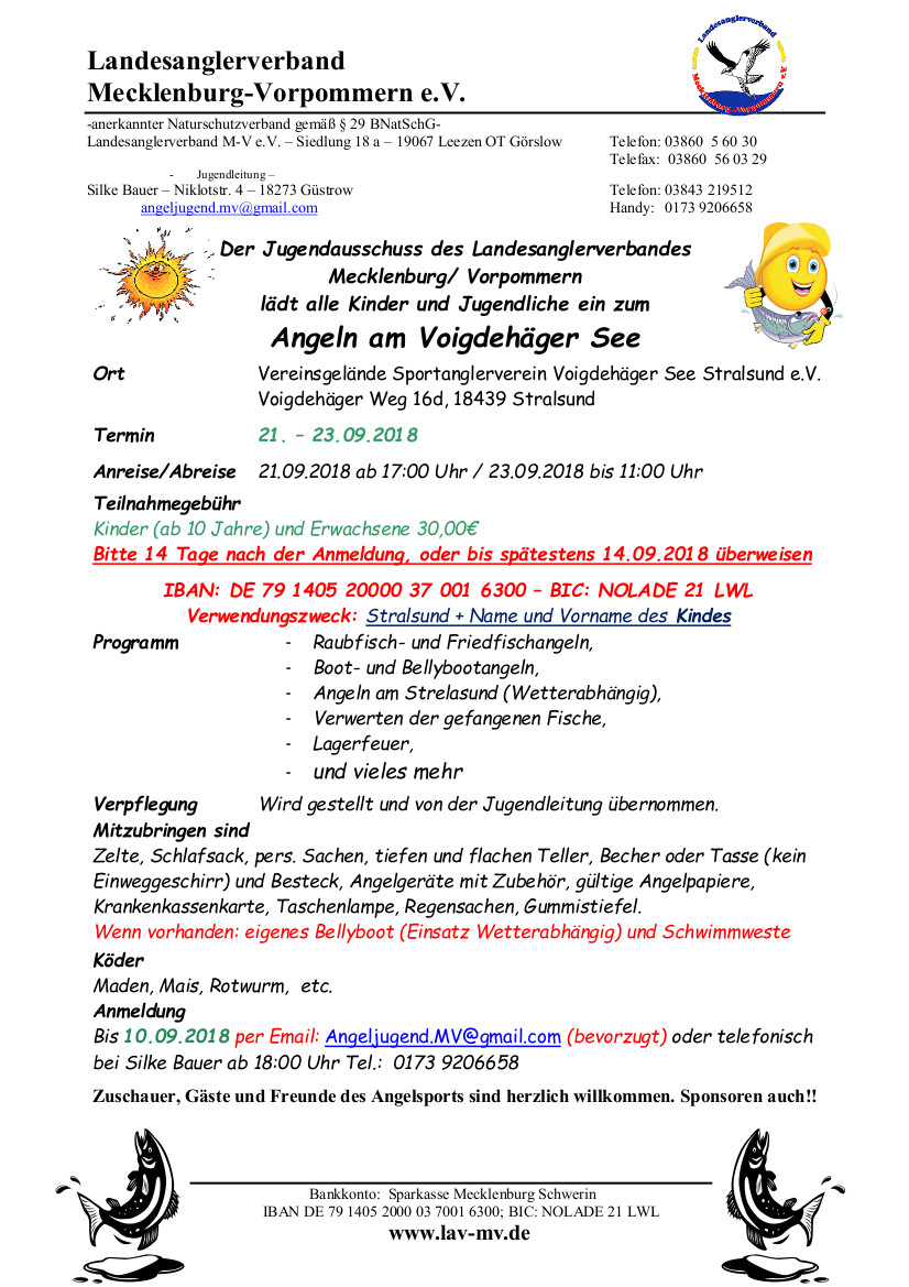 Angelcamp am Voigdehäger See